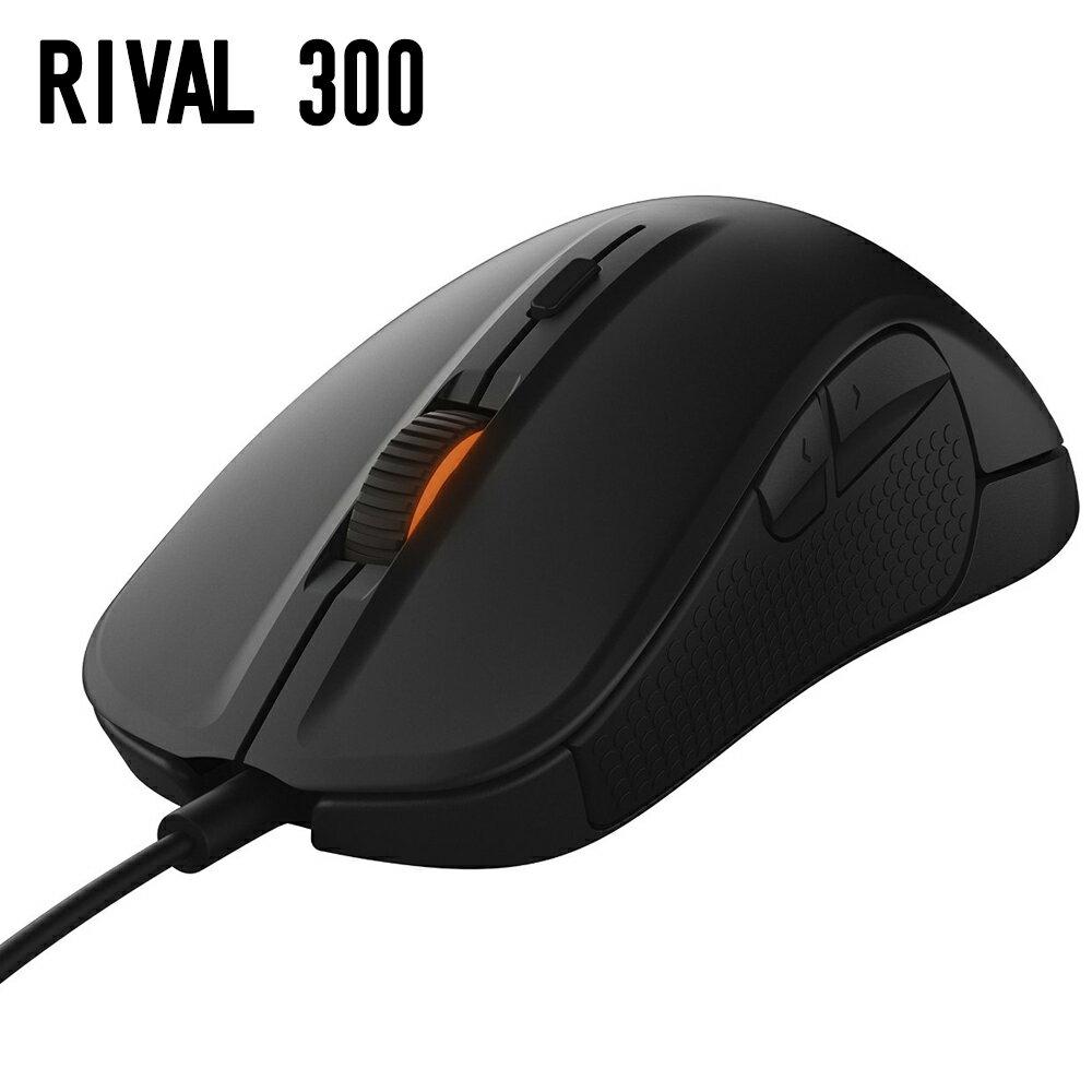 【送料無料】 ゲーミングマウス SteelSeries Rival 300 Black 62351  ブラック マウス スティールシリーズ