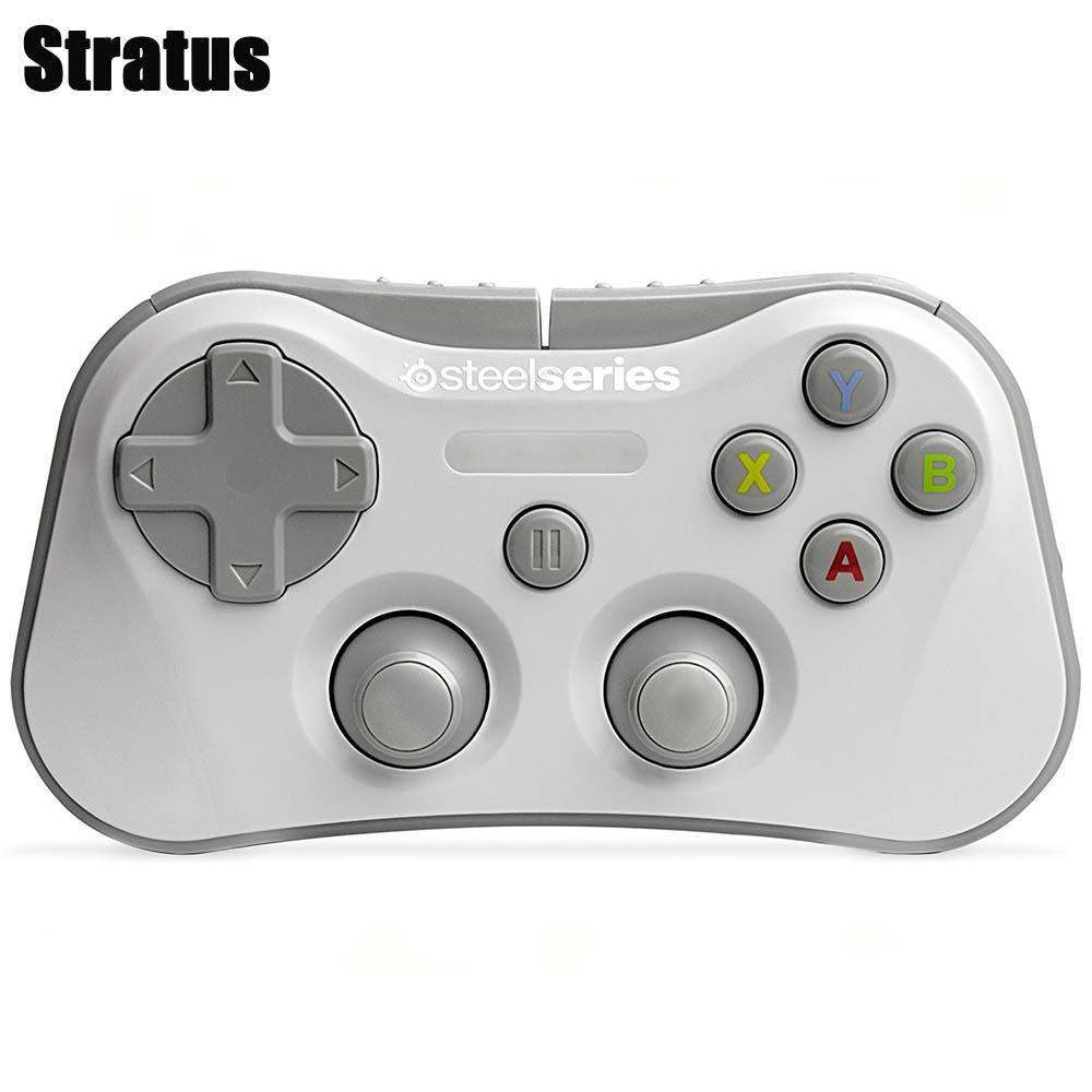 【送料無料】SteelSeries Stratus iOS用 Bluetooth ゲーミングコントローラー ホワイト スティールシリーズ 69017