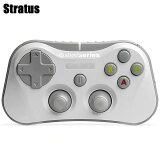 【国内正規品】【送料無料】SteelSeriesStratusiOS用Bluetoothゲーミングコントローラーブラック69016