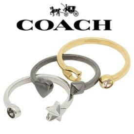 0e7c22744ed5 【送料無料】F24238 L38 US7号 コーチ COACH リング アクセサリー アウトレット STARDUST RING SET