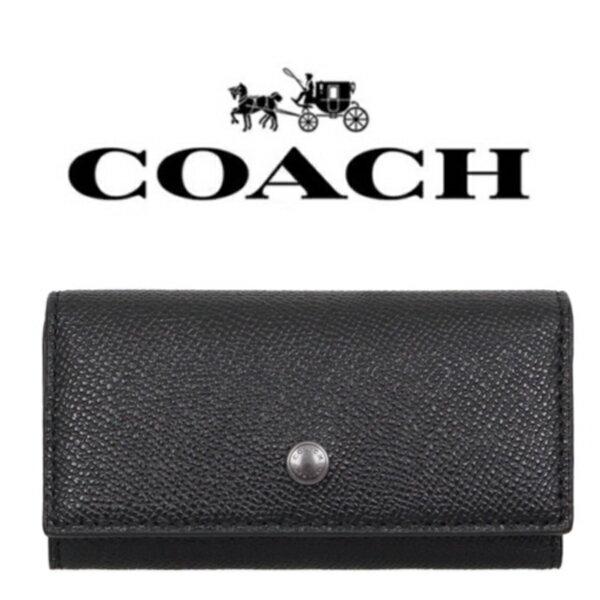 【送料無料】F26100 BLK コーチ COACH 小物 キーケース メンズ レディース ブラック