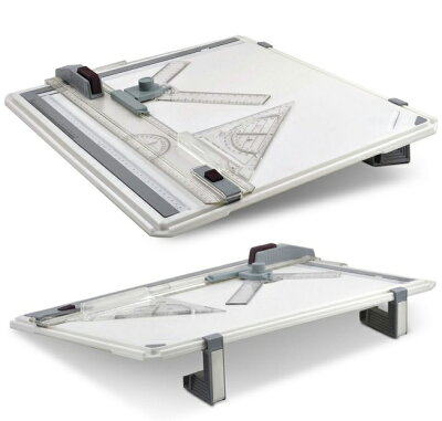 A3製図板ドラフター図面建築卓上製図板製図用品製図道具定規付イラスト背景工作