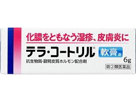 【第(2)類医薬品】薬)タケダ/テラ・コートリル軟膏a 6g