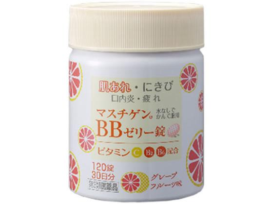 【第3類医薬品】薬)日本臓器製薬/マスチゲンBBゼリー 120錠