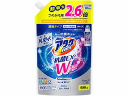 KAO/アタックNeo抗菌EX Wパワー つめかえ用 スパウトパウチ 950g