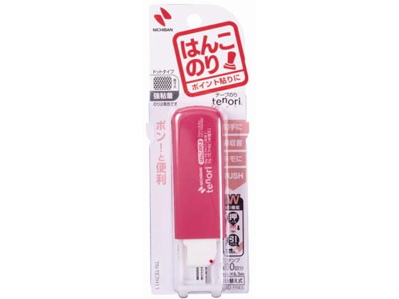 ニチバン/テープのりtenoriはんこのり ピンク/TN-TE7H11