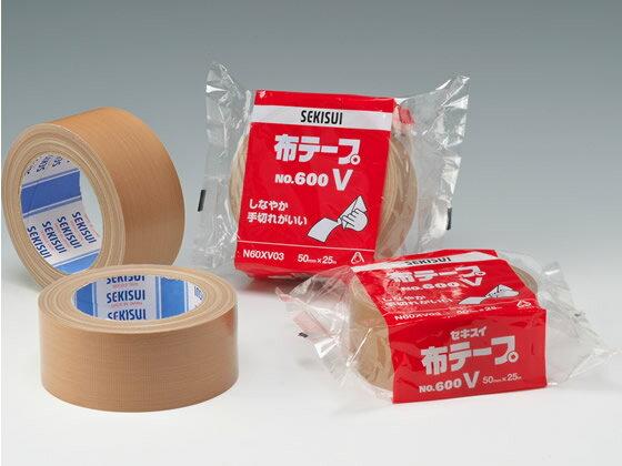 セキスイ/布テープ 600V 50mm×25m 1巻/No.600V