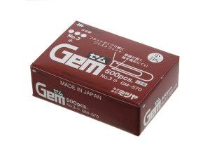 ミツヤ/ゼムクリップ 小 紙箱入 500本/GM-570