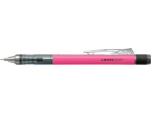 トンボ鉛筆/シャープペンシルモノグラフ ネオン0.5mmネオンピンク/DPA-134F