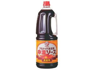 ブルドック/食堂用中濃ソースハンディパック 1.8L