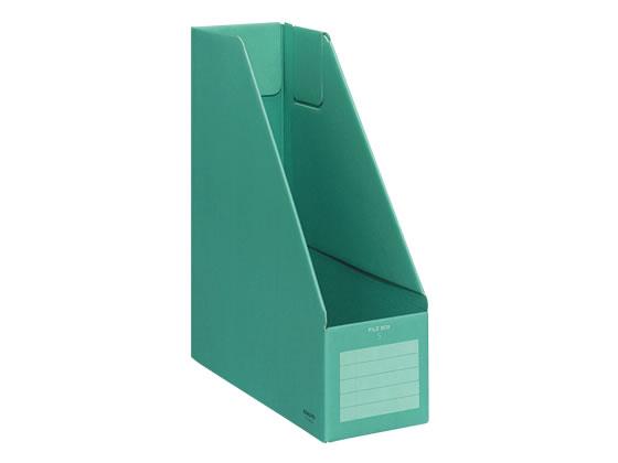 コクヨ/ファイルボックスS A4タテ 背幅102mm 緑/フ-E450G