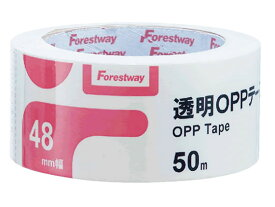 Forestway/透明OPPテープ 48mm×50m