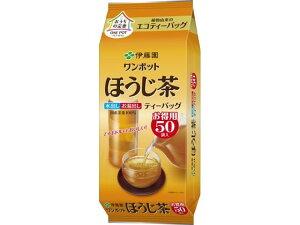伊藤園/ワンポットほうじ茶ティーバッグ 50袋