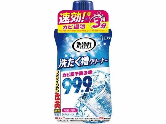 エステー/洗浄力 洗たく槽クリーナー 550g