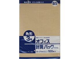 クラフト封筒 角3 85g/m2 100枚/K85-K3