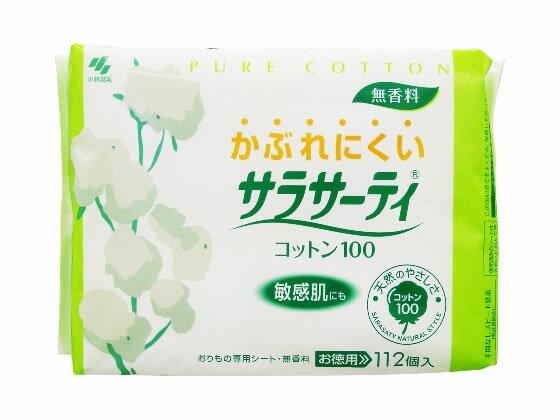 小林製薬/サラサーティコットン100 112個