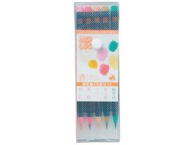 あかしや/水彩毛筆「彩」春を描く5色セット/CA200/5VA