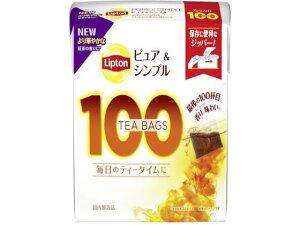 リプトン ピュア&シンプル ティーバッグ 100袋