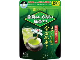 三井農林/急須のいらない緑茶です 詰替用袋80g