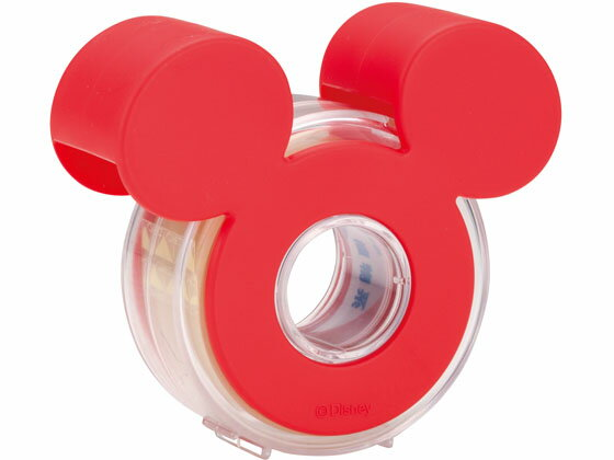 ニチバン/セロテープ テープカッター ミッキーマウス レッド/CTD-15RD