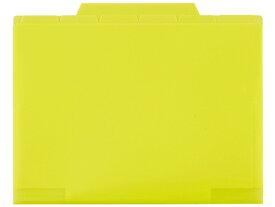 セキセイ/アクティフ 6インデックスフォルダー A4 ライトグリーン/ACT90633