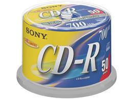 ソニー/データ用CD-R 700MB スピンドル 50枚/50CDQ80DNSP