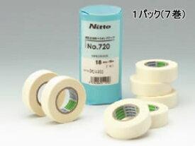 日東電工/マスキングテープ 建築塗装用 幅18mm 7巻入/No.720