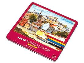 三菱鉛筆/ウォーターカラー水彩色鉛筆24色/UWC24C