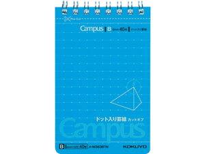 キャンパスツインリングメモ(ドット入り罫線)(カットオフ) A7 メ-M363BTN