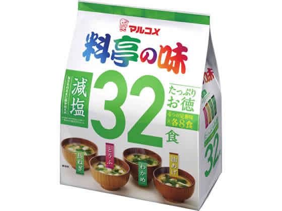 マルコメ/たっぷりお徳 料亭の味 減塩 32食