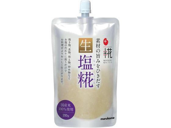 マルコメ/プラス糀塩糀 生タイプ 200g