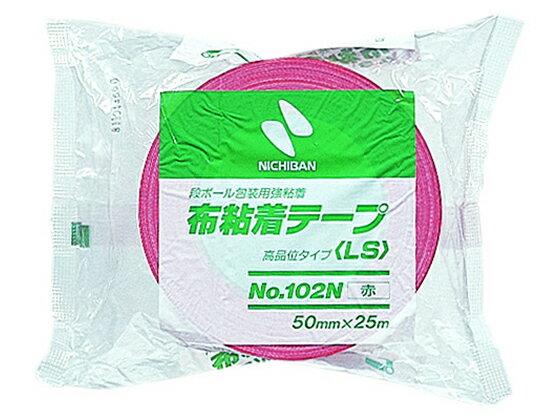 ニチバン/布粘着テープ 50mm*25m/102N1-50赤