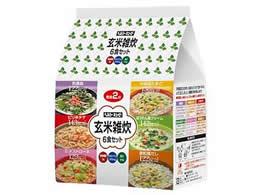 キューピー/ヘルシーキューピー玄米雑炊6食セット