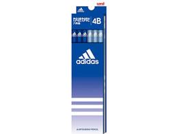 三菱鉛筆/アディダス 紙ダース箱鉛筆 4B 青/K55874B
