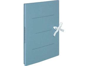 コクヨ/ガバットファイルS(ストロングタイプ・紙製)A4タテ(ひも付) 青
