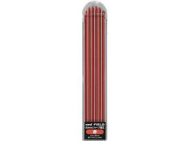 三菱鉛筆/建築用シャープ フィールド替芯2.0mm赤/U203101P.15