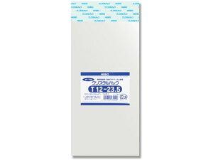 シモジマ/クリスタルパックT テープ付 T12-23.5 100枚/#6740830