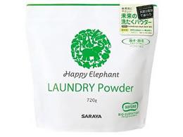 サラヤ/Happy Elephant 洗たくパウダー720g