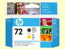 HP/プリントヘッド マットブラック・イエロー/HP72(C9384A)