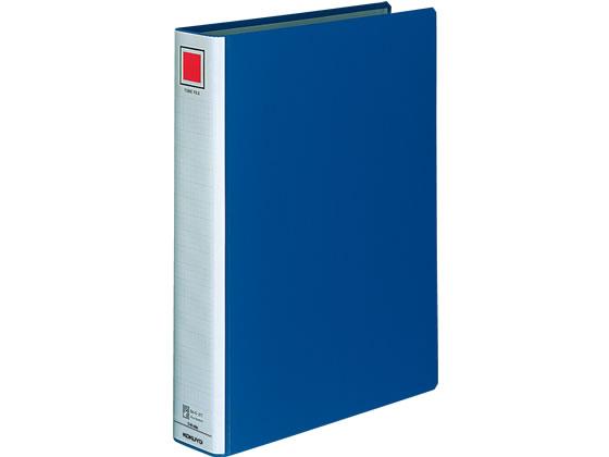 コクヨ/チューブファイルロングボディ B4タテ とじ厚40mm 青