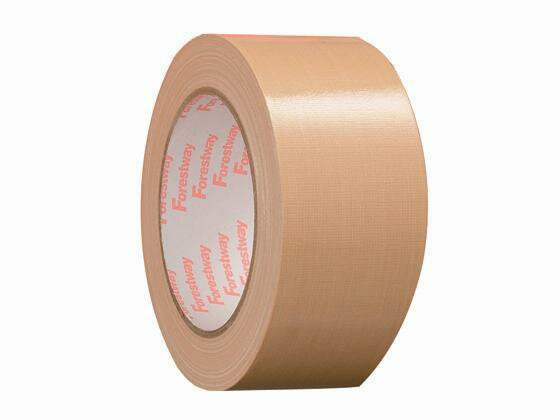 Forestway/布テープ(軽・中量梱包用)50mm×25m バラ売り
