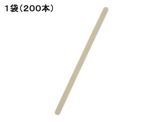 ホウケン産業/ウッドマドラー 200本入/140