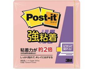 3M/〈ポストイット〉強粘着ノート パステルカラー ピンク/654SS-RPP