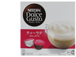 ネスレ/ネスカフェ ドルチェグスト 専用カプセル ティーラテ 8杯分