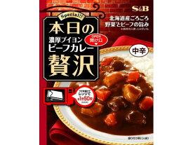 エスビー食品/本日の贅沢 ビーフカレー 中辛 180g/13677