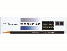 トンボ鉛筆/鉛筆モノJ 2B 12本/MONO-J2B