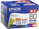 エプソン/インクカートリッジ6色パック/IC6CL80