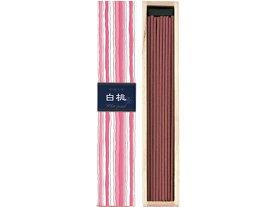 日本香堂/かゆらぎ 白桃 スティック40本入 香立付/38451