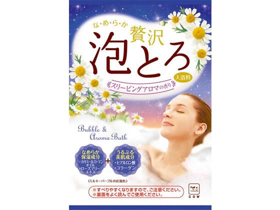牛乳石鹸/お湯物語 贅沢泡とろ 入浴料 スリーピングアロマ30g