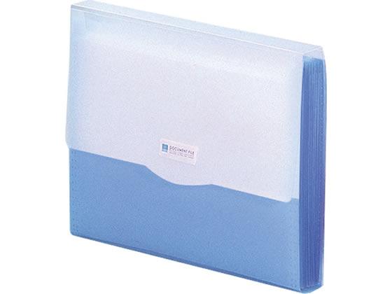 リヒトラブ/REQUEST ドキュメントファイル A4 ブルー/G5610-8